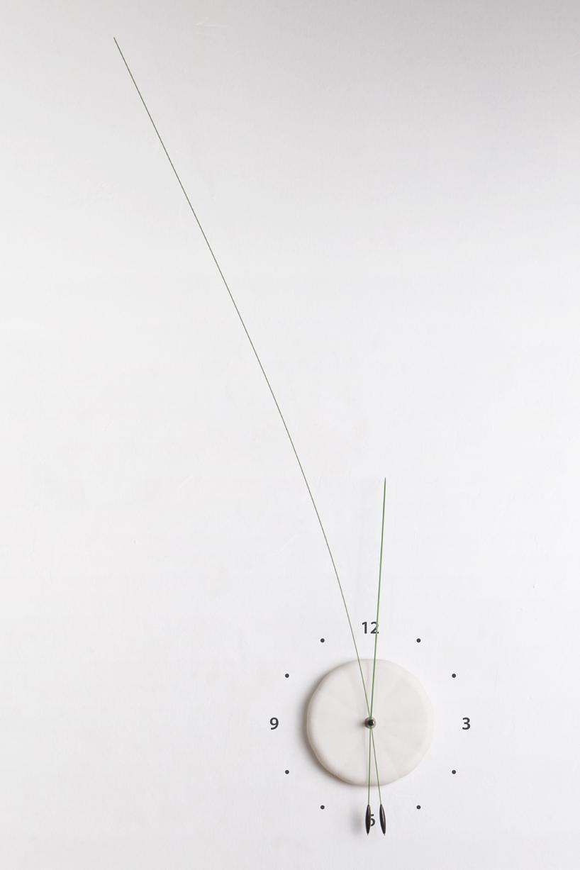 しなやかな針の時計3