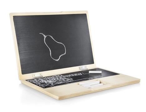 パソコンのような黒板