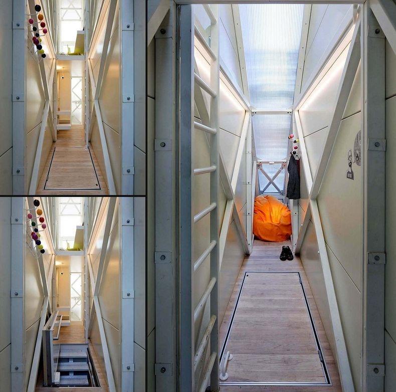 世界一の狭小住宅Keret House5