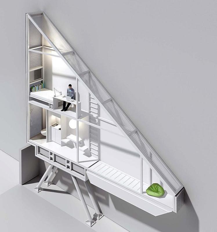 世界一の狭小住宅Keret House3