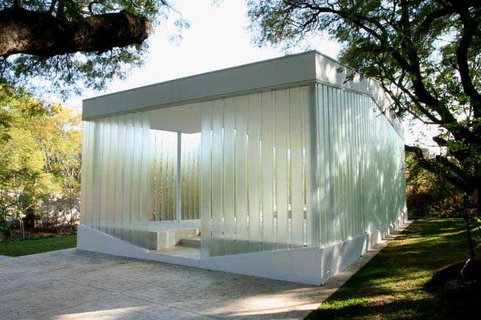 メキシコにあるガラスのチャペル4