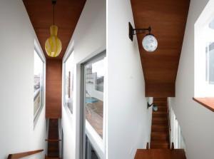 東京都、根津の狭小住宅「大きなすきまのある生活」5