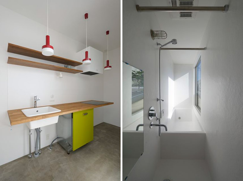 東京都、根津の狭小住宅「大きなすきまのある生活」8