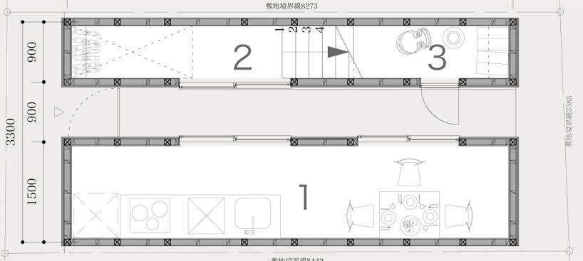 東京都、根津の狭小住宅「大きなすきまのある生活」12
