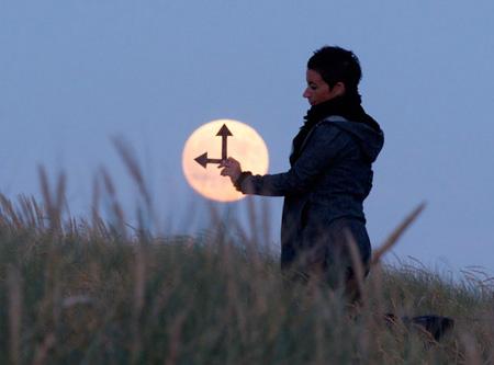芸術的な月の写真2
