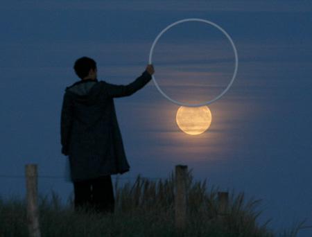 芸術的な月の写真4