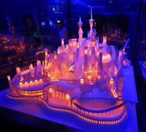 ペーパークラフト「海の上のお城」1