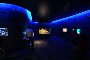 ペーパークラフト「海の上のお城」11