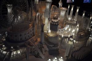 ペーパークラフト「海の上のお城」6