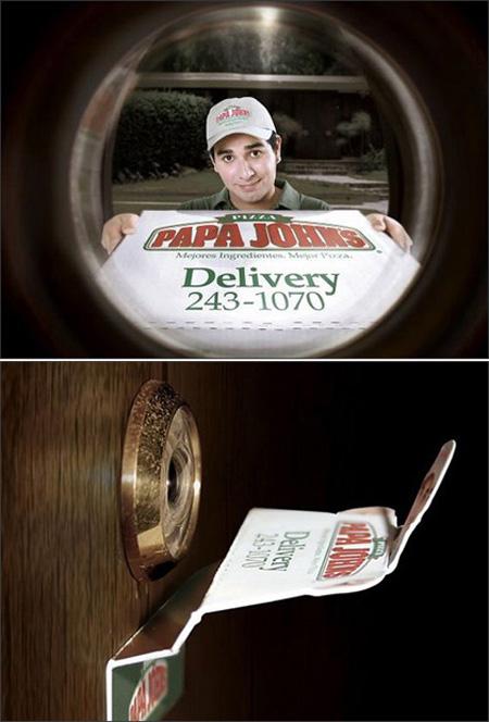 世界に溢れるピザ屋の広告11
