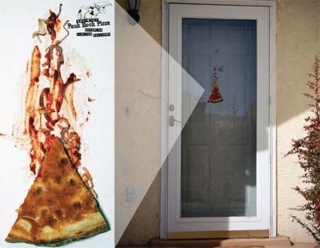 世界に溢れるピザ屋の広告5
