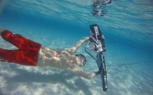 水の中のウェイクボード、サブウィング(Subwing)5