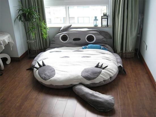 トトロのベッド4
