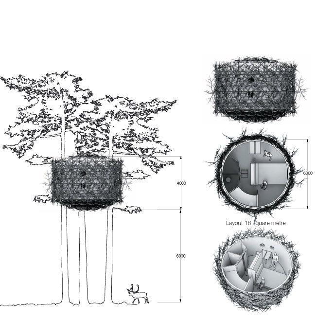treehotel-the-birds-nest 鳥の巣のようなツリーホテル22