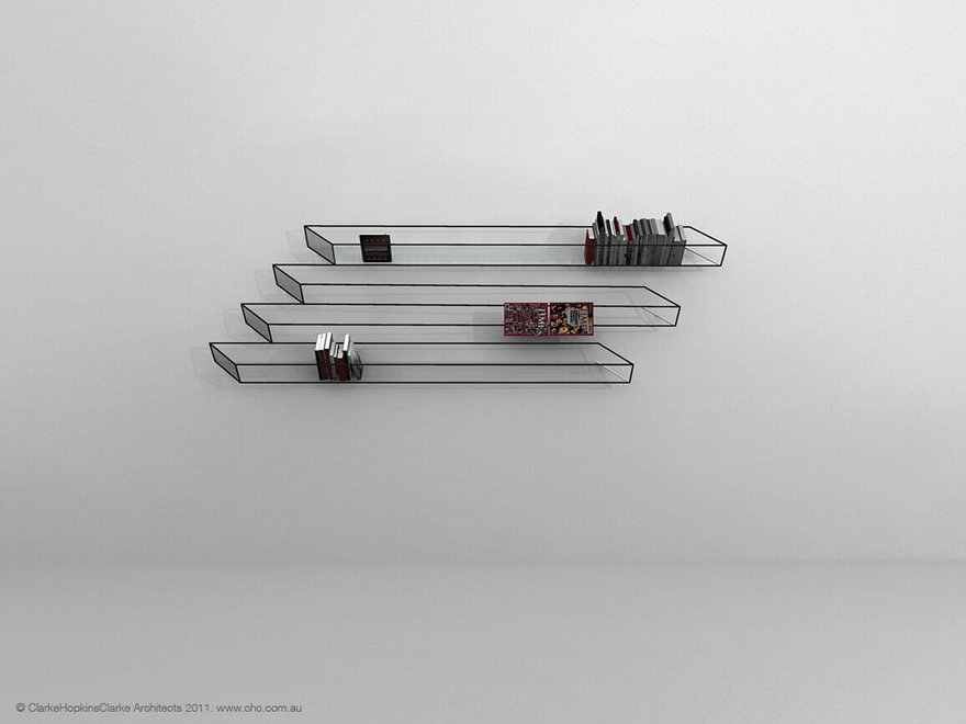 """Bias of Thoughts"" Bookshelf"