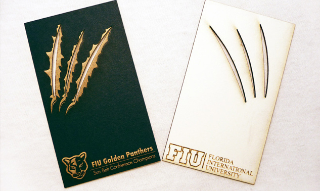 FIU-Golden-Panthers-business-card
