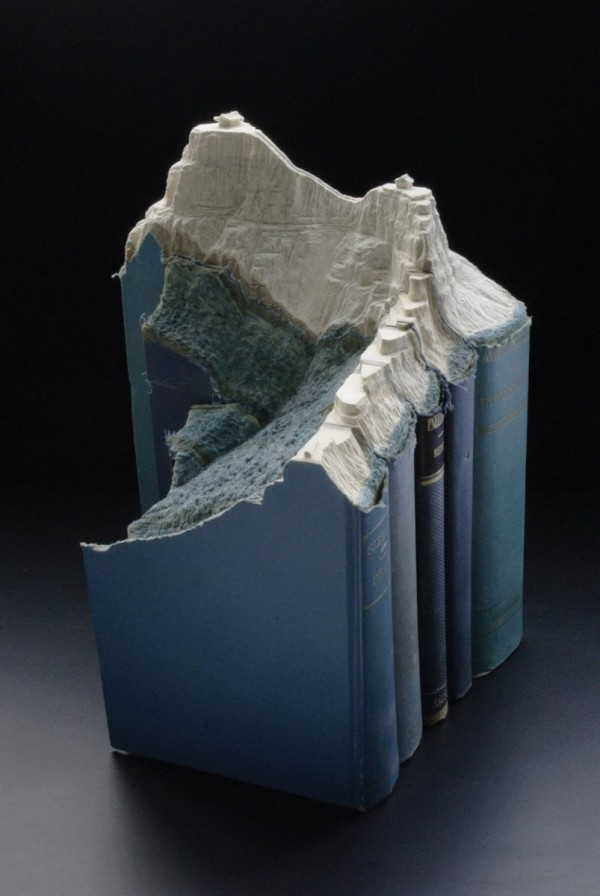 Carved Book Landscapes by Guy Laramee17