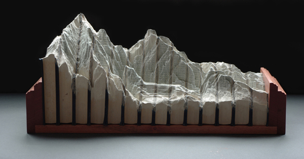 Carved Book Landscapes by Guy Laramee27