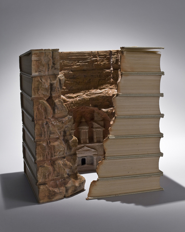 Carved Book Landscapes by Guy Laramee30