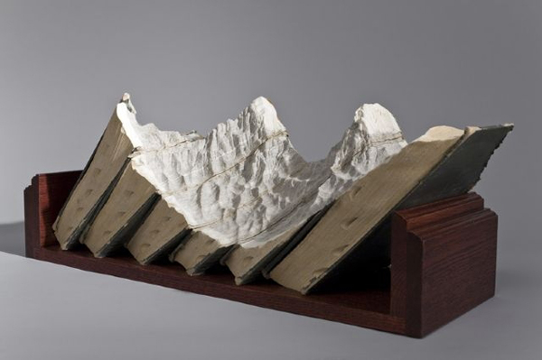 Carved Book Landscapes by Guy Laramee19