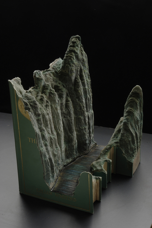 Carved Book Landscapes by Guy Laramee25