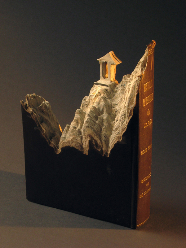 Carved Book Landscapes by Guy Laramee26