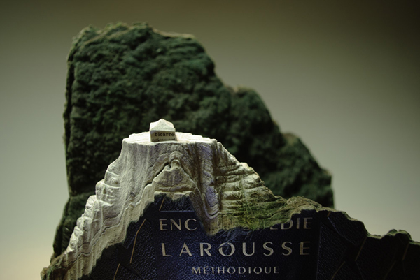 Carved Book Landscapes by Guy Laramee11