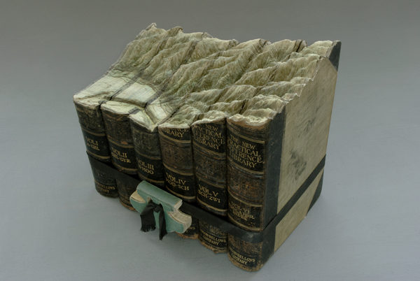 Carved Book Landscapes by Guy Laramee15