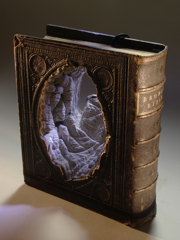 Carved Book Landscapes by Guy Laramee1