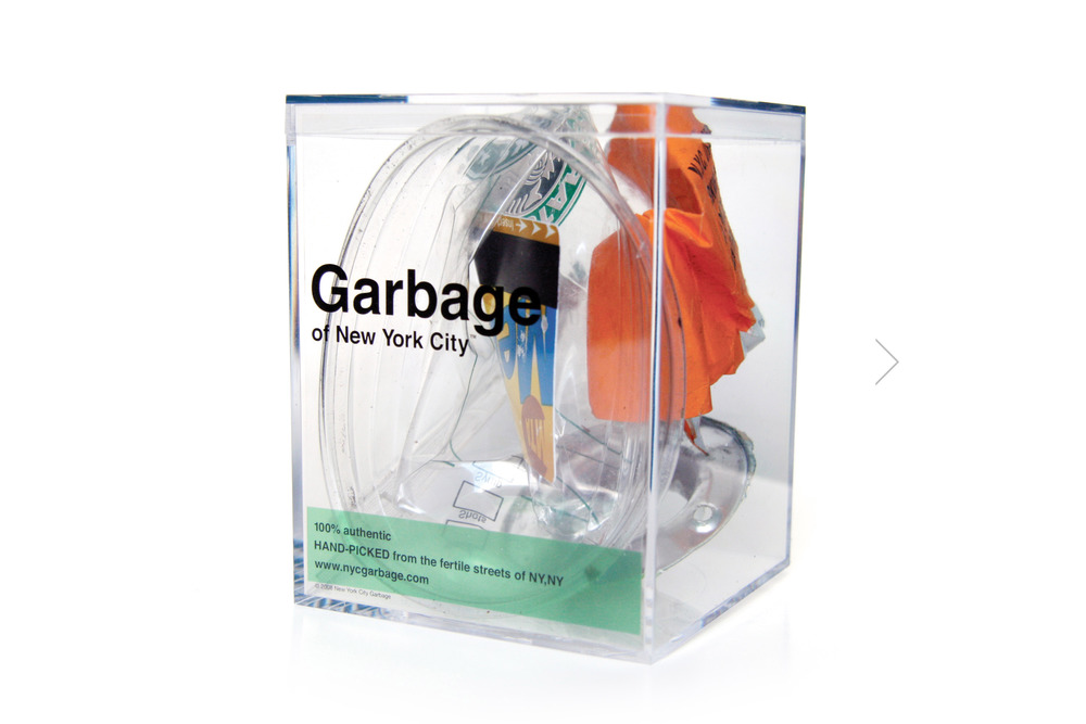 New York City Garbage by Justin Gignac