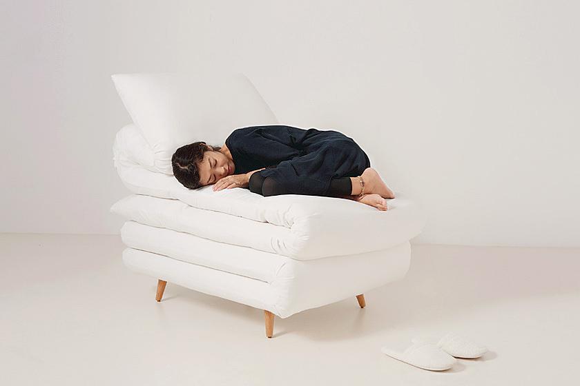 ふとんみたいな椅子。Sleepy chair3