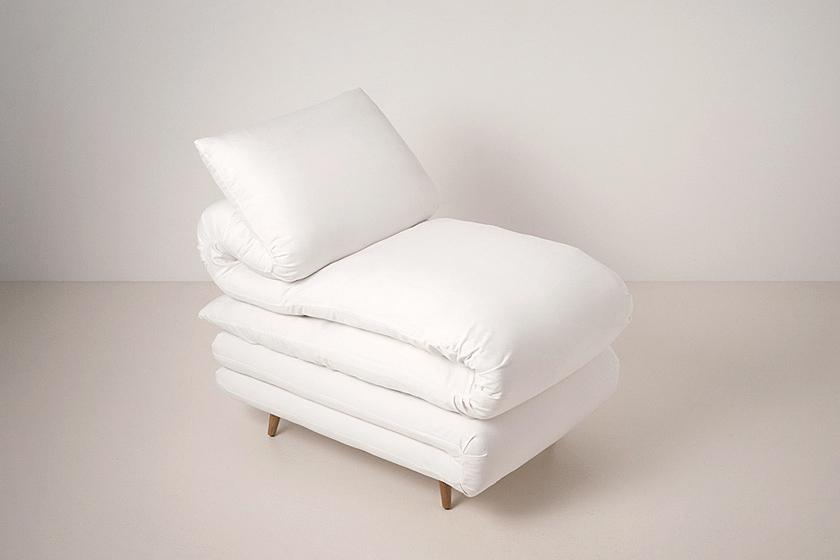 ふとんみたいな椅子。Sleepy chair4
