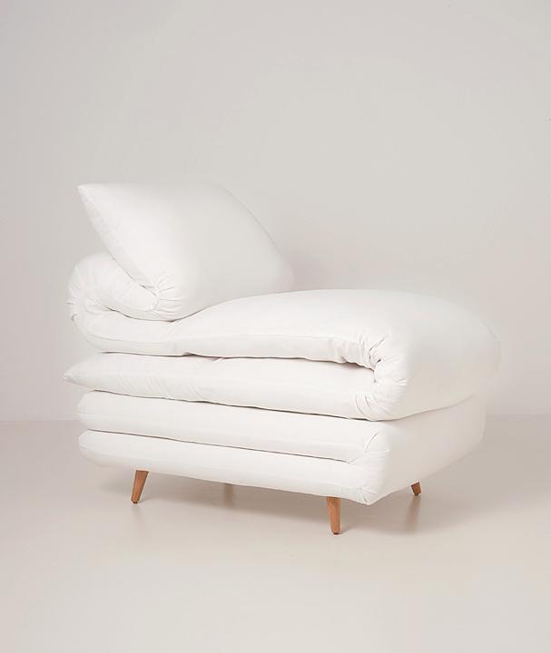 ふとんみたいな椅子。Sleepy chair5