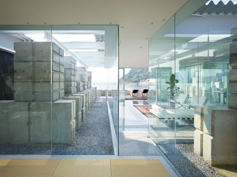 全面ガラス張りの家。潜水士のためのグラス・ハウス10