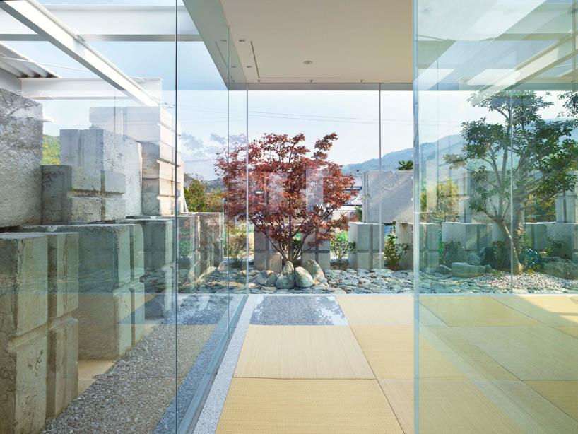 全面ガラス張りの家。潜水士のためのグラス・ハウス9