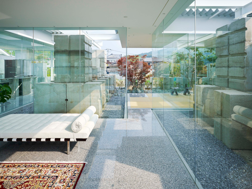 全面ガラス張りの家。潜水士のためのグラス・ハウス11