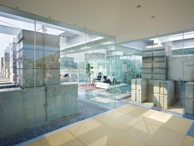 全面ガラス張りの家。潜水士のためのグラス・ハウス7