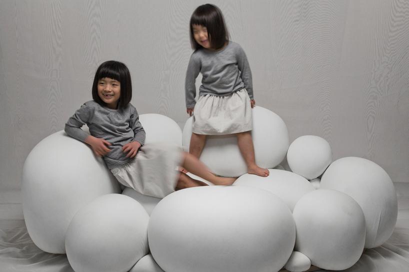 marshmallow-like sofa by kei harada