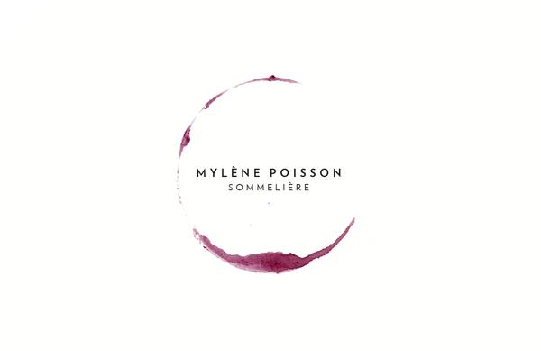business card of Mylène Poisson