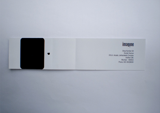 iMac business card