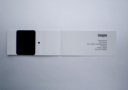 iMac business card