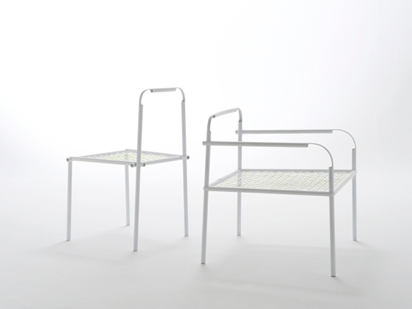 bamboo-steel chair1