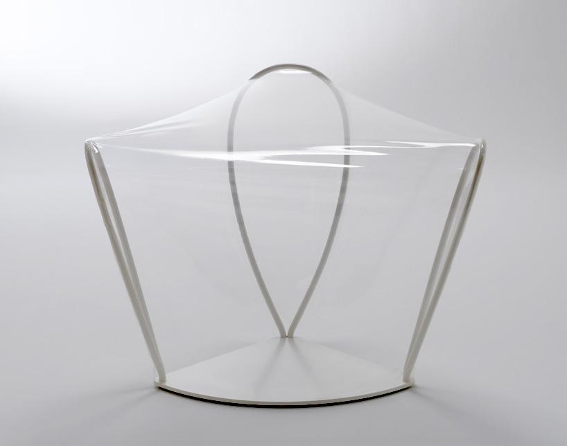 nendo transparent chair
