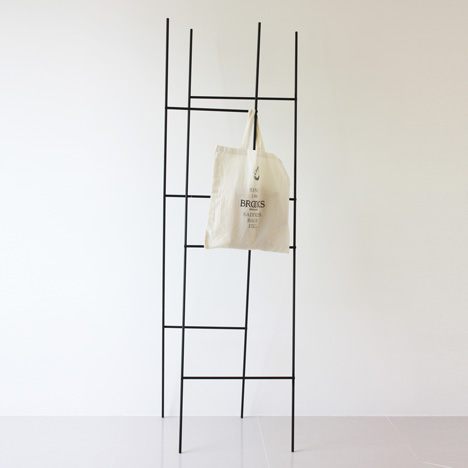 Ladder Coat Rack by Yenwen Tseng2