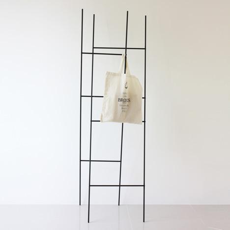 Ladder Coat Rack by Yenwen Tseng2