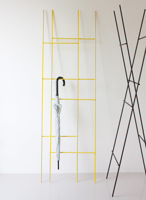 Ladder Coat Rack by Yenwen Tseng6