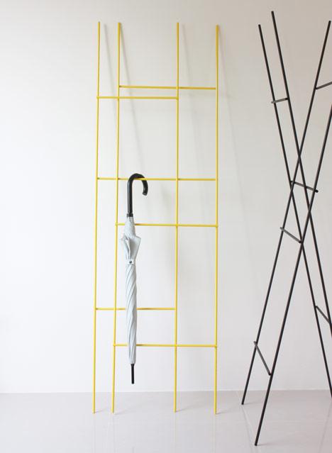 Ladder Coat Rack by Yenwen Tseng6