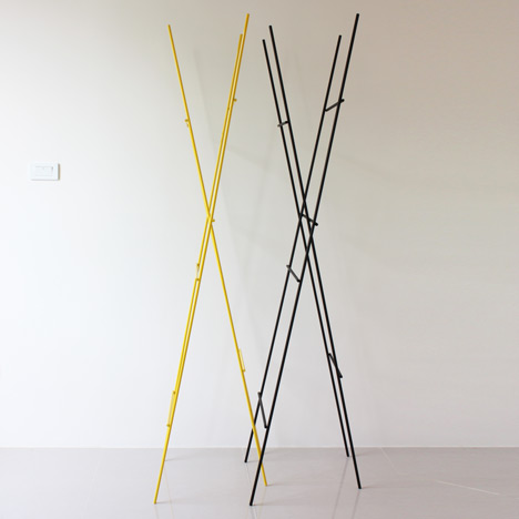 Ladder Coat Rack by Yenwen Tseng7
