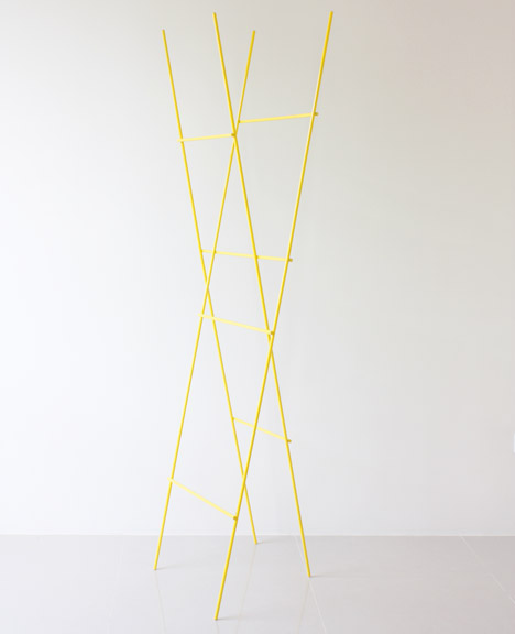 Ladder Coat Rack by Yenwen Tseng4