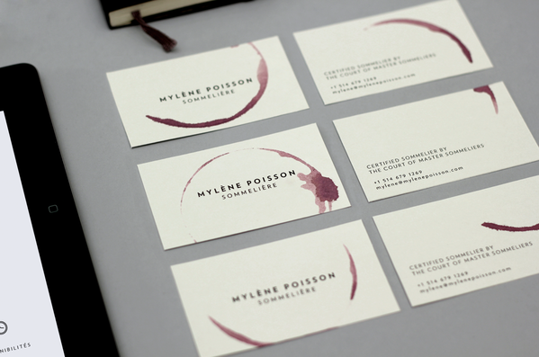 business card of Mylène Poisson7